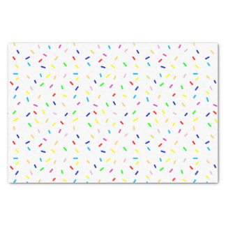 colorful sprinkles tissue paper