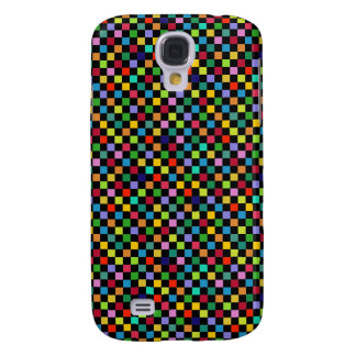 colorful square pattern samsung galaxy s4 cover
