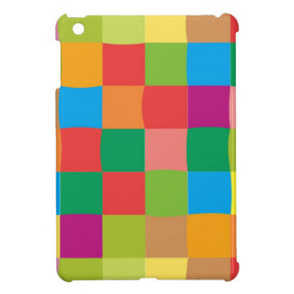 Colorful Squares with & Eye Catching | iPad Mini Cover