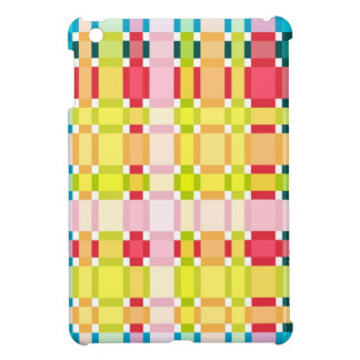 Colorful Squares with Stripes & Eye Catching | Case For The iPad Mini