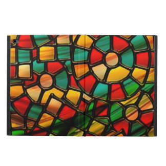 colorful stained glass.3 powis iPad air 2 case