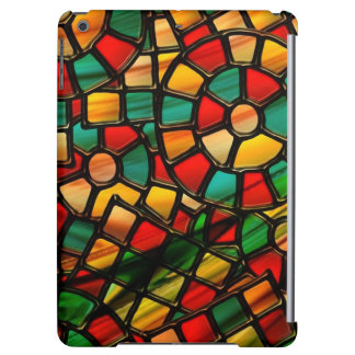 colorful stained glass.3 iPad air cover