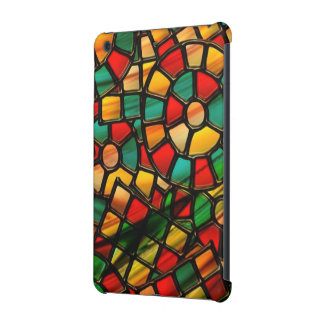 colorful stained glass.3 iPad mini cover