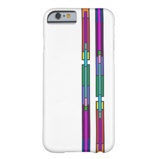Colorful Stained Glass Design Barely There iPhone 6 Case