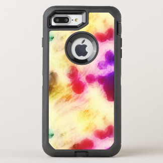 Colorful Stained Tissue Paper OtterBox Defender iPhone 8 Plus/7 Plus Case