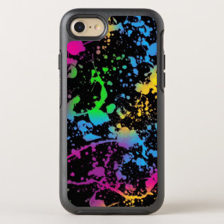 colorful stains spots art OtterBox symmetry iPhone 8/7 case