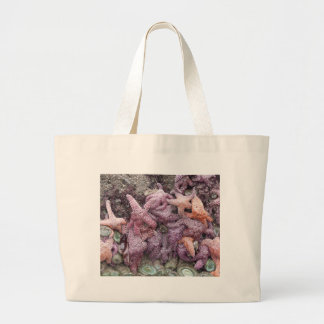 Colorful Star Fish Jumbo Tote Bag