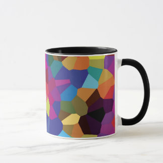 Colorful Star Mosaic Mug