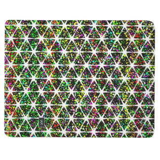 Colorful Star Pattern Journal