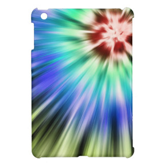 Colorful Starburst Tie Dye Cover For The iPad Mini