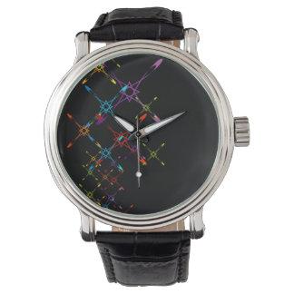 Colorful starburst watch