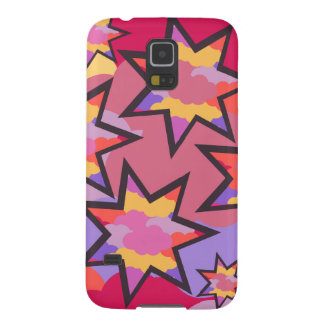 Colorful stars and clouds galaxy s5 cases