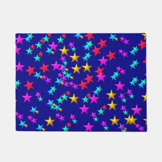 COLORFUL STARS DOORMAT