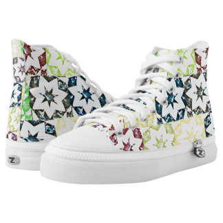 Colorful Stars♥ High Tops