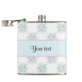 Colorful Stars Hip Flask