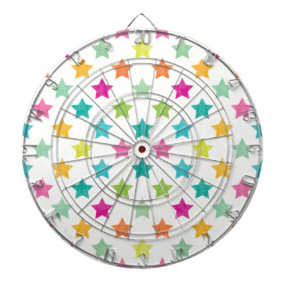 Colorful Stars IV Dartboard