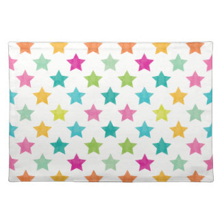 Colorful Stars IV Placemat