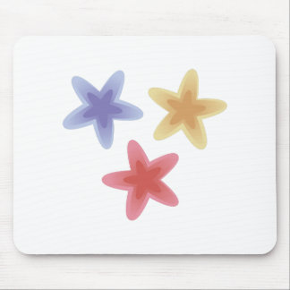 Colorful Stars Mouse Pad