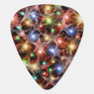 colorful stars pattern plectrum
