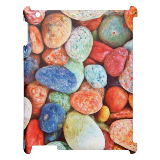 Colorful Stones - River Rocks Painting iPad Covers