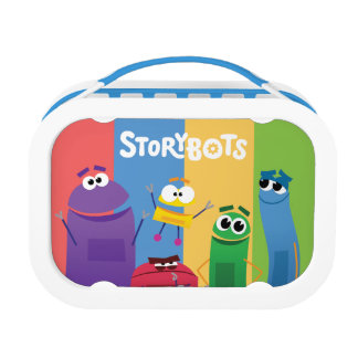 Colorful StoryBots Lunch Box