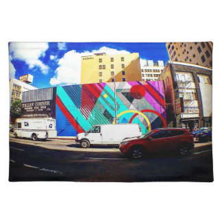 Colorful Street Art Placemat