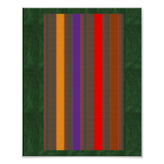 Colorful Stripe Art:by Navin Joshi, LOWPRICE gifts Poster