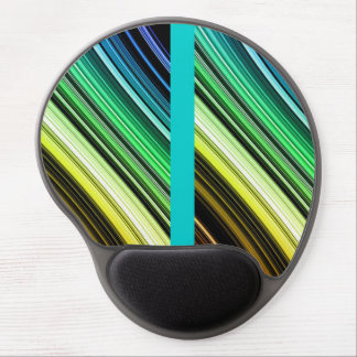 Colorful stripe mousepad gel mouse pad