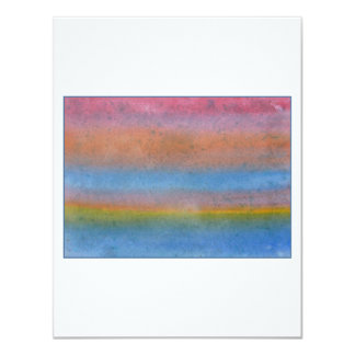 Colorful Striped Abstract. Custom Announcement