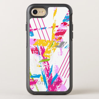 Colorful Striped Design OtterBox Symmetry iPhone 8/7 Case