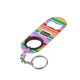 Colorful Striped Keyring Bottle Opener-4