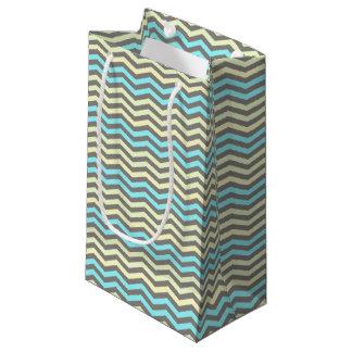 Colorful stripes-Chevron ornament-Gift Bag
