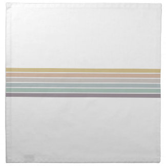 Colorful Stripes Cloth Napkins
