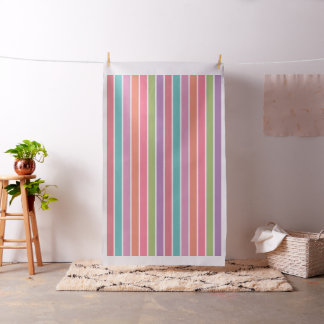 Colorful Stripes custom fabric