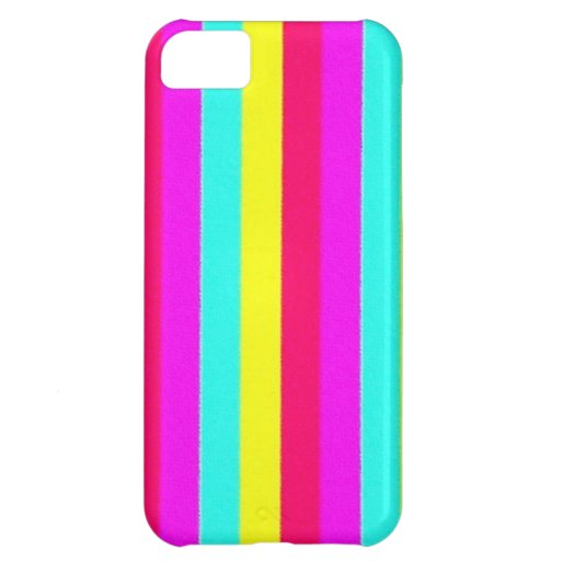 colorful stripes, flashy case for iPhone 5C