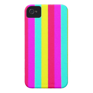 colorful stripes, flashy iPhone 4 Case-Mate cases