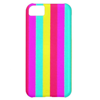 colorful stripes flashy case for iPhone 5C
