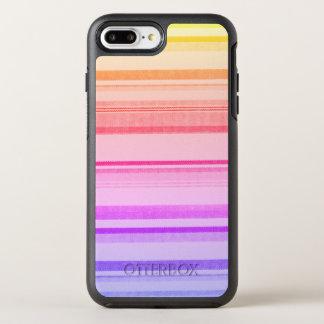 Colorful Stripes Lines OtterBox Symmetry iPhone 8 Plus/7 Plus Case