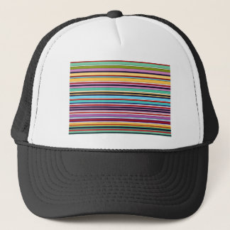 colorful stripes OF buzzer Trucker Hat