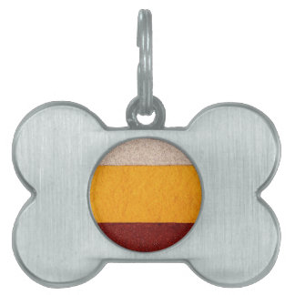 Colorful Stripes Pet ID Tag
