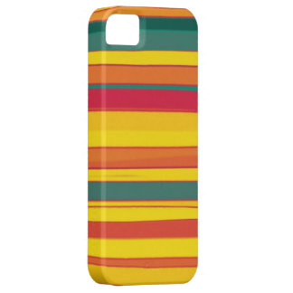 Colorful stripes seamless graphic design iPhone 5 cover