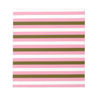 Colorful stripes : Tshirts and more Notepad