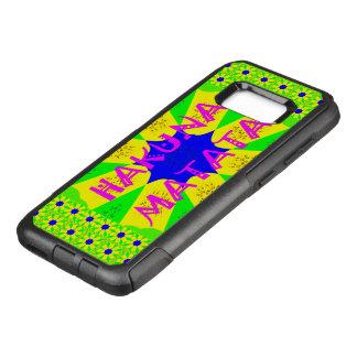 Colorful stylish Hakuna Matata pattern design OtterBox Commuter Samsung Galaxy S8+ Case
