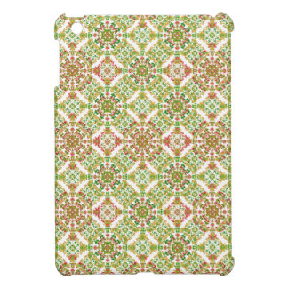 Colorful Stylized Floral Boho iPad Mini Covers