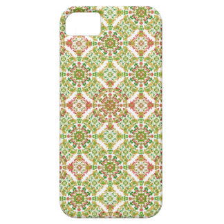 Colorful Stylized Floral Boho iPhone 5 Cases