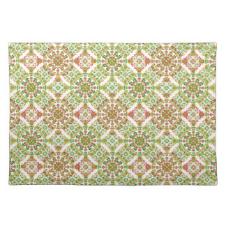 Colorful Stylized Floral Boho Placemat