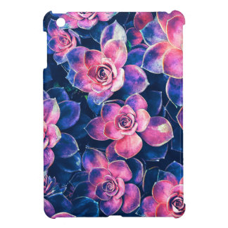 Colorful Succulent Plants Cover For The iPad Mini