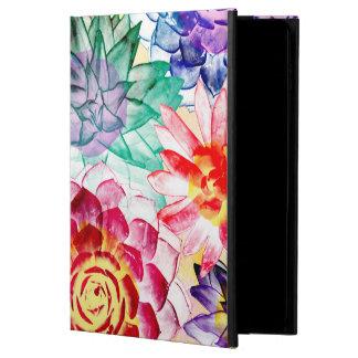 Colorful Succulent Plants Pretty Watercolor Powis iPad Air 2 Case