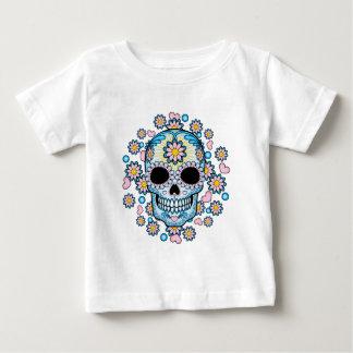 Colorful Sugar Skull Baby T-Shirt