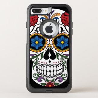 Colorful Sugar Skull OtterBox Commuter iPhone 8 Plus/7 Plus Case